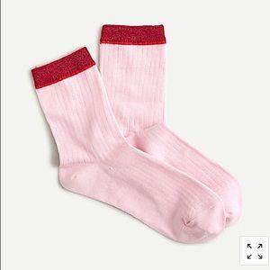 J. Crew Boot Sock Trouser Shimmer Colorblock AR758